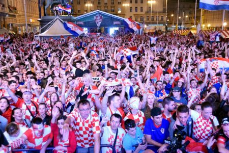 World Cup mania: Croatia's soccer team scores beyond the field