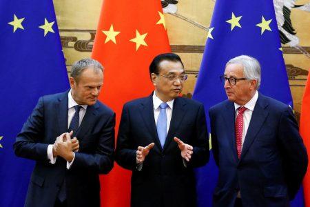 Before Trump-Putin summit, Europe urges China and US to halt trade war