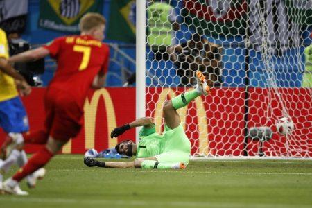 Brazil vs. Belgium 2018 World Cup quarterfinal: De Bruyne's rocket has Belgium up, 2-0 at the half