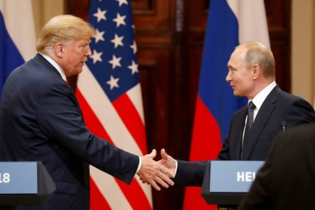 Full text: President Trump's news conference with Russia's Putin