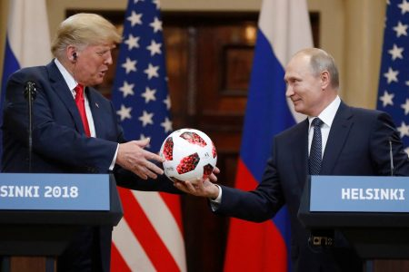 Trump's eagerness to get along with Putin was on display in Helsinki