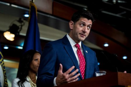 'He's just trolling people': Ryan plays down Trump's threat to revoke security clearances