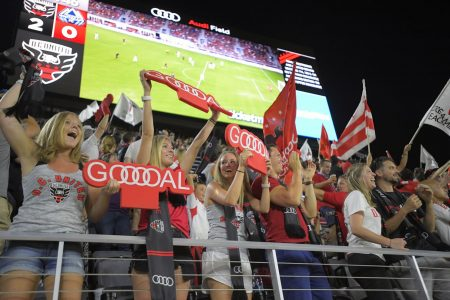 Some might call Audi Field opening tasteful. Others might say underwhelming.