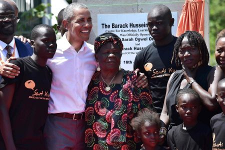 'He is our son': Obama draws adulation in understated visit to his father's native Kenya
