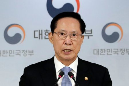 SKorea suspends civilian drills to help talks with NKorea