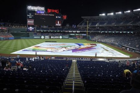 Rain threatens Tuesday's All-Star Game and baseball's streak of good weather luck