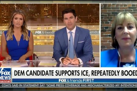 Fox News booked the wrong Democrat on a show. She used the spotlight to unload on Trump.