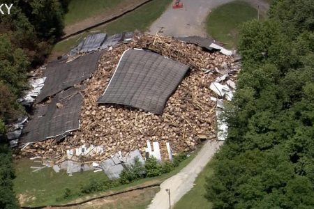 Rest of Kentucky's Barton 1792 distillery collapses