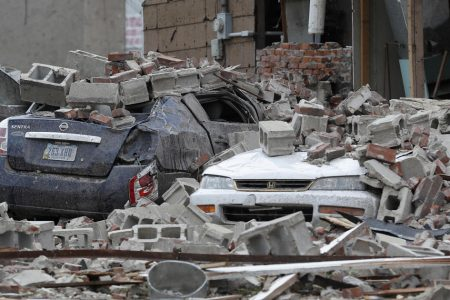 Marshalltown, Iowa, stunned by Tornado but residents say they'll rebuild