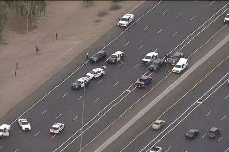 Rookie trooper shot dead by suspect who stole cop gun