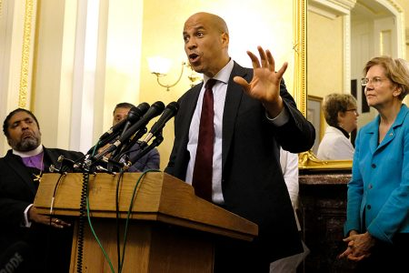 Booker: Those who don't oppose Kavanaugh are 'complicit in the evil'