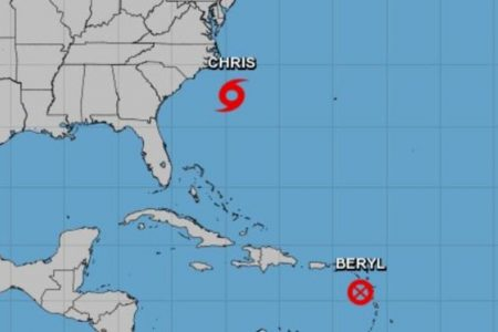 Puerto Rico, Dominica still wary of dissipated storm Beryl