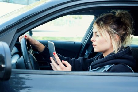 Half of Parents in America Use Cell Phones With Young Children in the Car