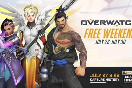 Overwatch free weekend coming July 26th-30th