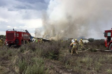 85 injured after Aeromexico plane crashes at airport, officials say