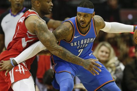 Carmelo Anthony 'In the Mix' for Rockets, GM Daryl Morey Confirms