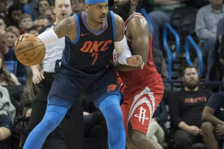 James Harden: Carmelo Anthony 'Would Be a Great Acquisition' for the Rockets