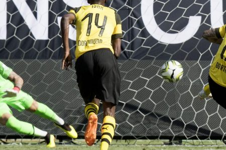 Christian Pulisic Scores Twice as Dortmund Beat Liverpool 3-1 at 2018 ICC