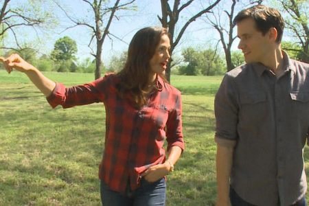 Jennifer Garner on the farm, and away from paparazzi