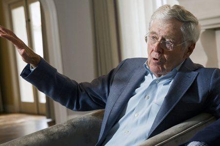 Trump tariffs assailed at Koch network gathering