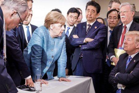 """Germany leader Angela Merkel: Worth """"every effort"""" to avoid Europe-Trump trade war"""