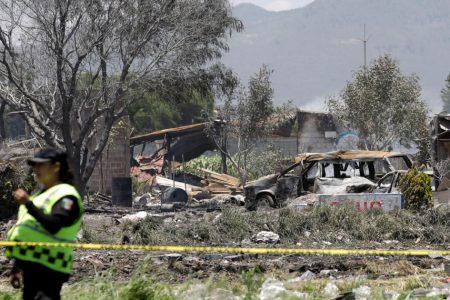 Fireworks explosions near Mexico City kill 19