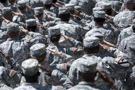 Army discharging some immigrant recruits: report