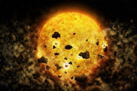 Nasa's X-ray Observatory Spots Hungry Star Devouring a Young Planet, in Scientific First