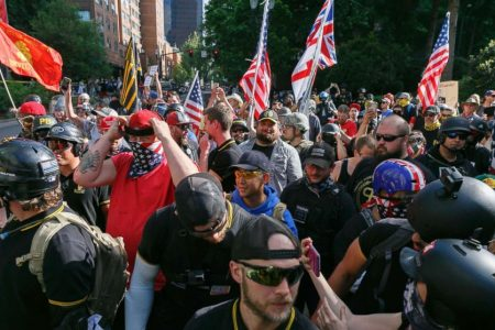 'Racist street fighters and an anti-government militia': Understanding the Proud Boys and the Oath Keepers