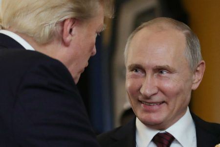 The Hill's Morning Report — Trump readies for Putin summit: 'He's not my enemy'
