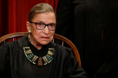 Ruth Bader Ginsburg Says She's Not Going Anywhere for 'at Least Five Years'