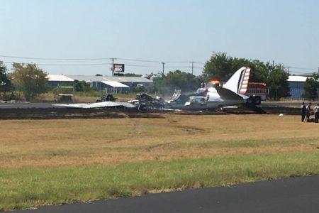 All 13 Passengers Survive a Fiery Texas Plane Crash