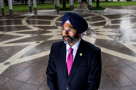New Jersey radio hosts suspended after calling Sikh attorney general 'Turban Man'