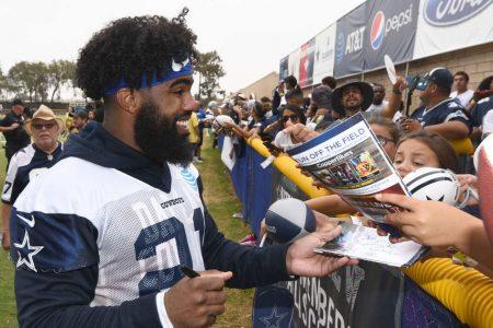 'Completely different' Elliott preps for Cowboys sans drama