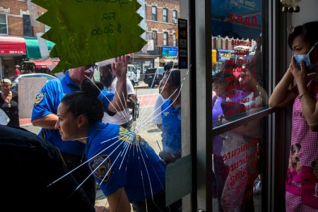 A Video of a Nail Salon Brawl Went Viral. Protesters Want the Shop Closed.