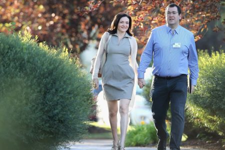 Sheryl Sandberg will donate SurveyMonkey stake to charity she started with her late husband, Dave Goldberg
