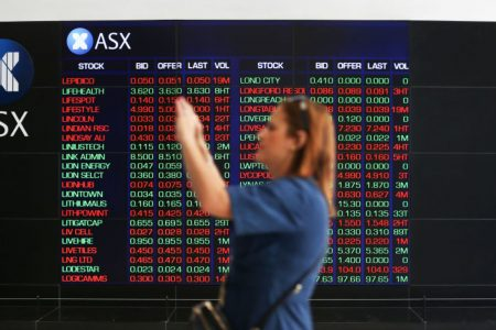 Asia markets mixed in midday trade as investors react to developments in US politics