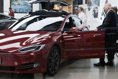 Tesla shares surge as upbeat Musk sees profitable second half