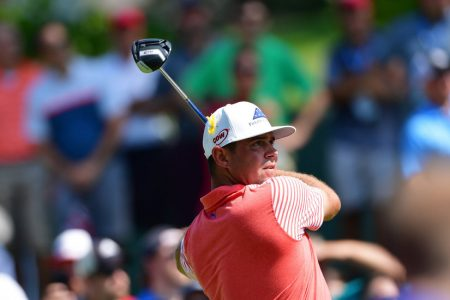 Gary Woodland Sets a Scorching Pace at the Stormy PGA Championship