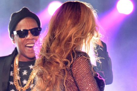 Drunken fan charged after rushing at Beyoncé and Jay-Z during Atlanta concert