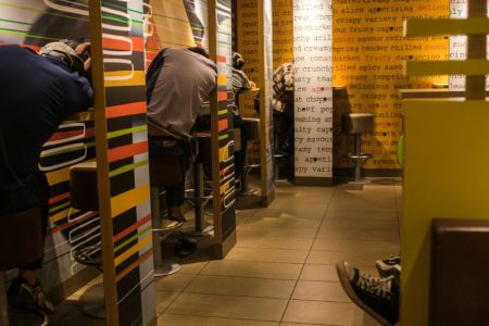 Why so many people sleep in McDonald's in Hong Kong