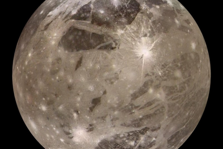 'Extraordinary' waves from Jupiter's moon Ganymede spotted