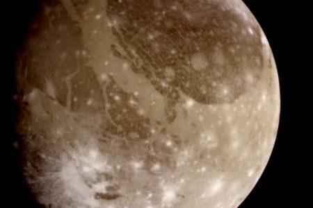Jupiter's largest moon Ganymede produces powerful plasma waves