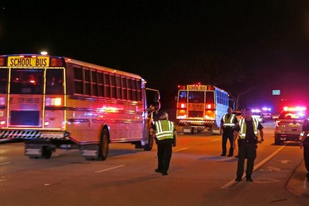 Shooting victims at high school football game were targeted, officials say