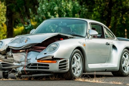 Crashed 1987 Porsche 959 heading to auction, could be worth $500000