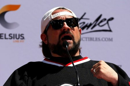 Kevin Smith celebrates dramatic weight loss six months after severe heart attack
