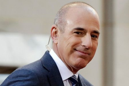 Matt Lauer reportedly tells fans that he'll be 'back on TV'
