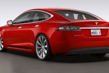 Tesla Model S goes airborne on video, driver charged