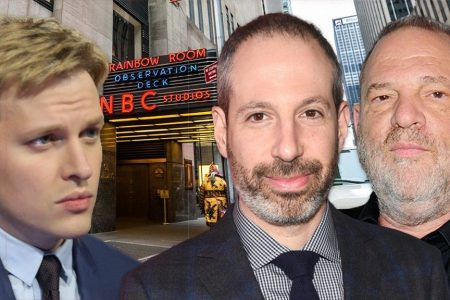 Ronan Farrow ex-producer says NBC told them to stop reporting Weinstein story