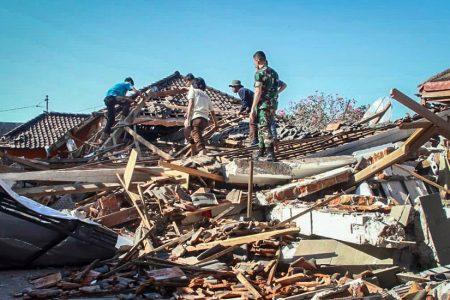 Indonesia Earthquake Kills Scores and Leaves 20000 Homeless